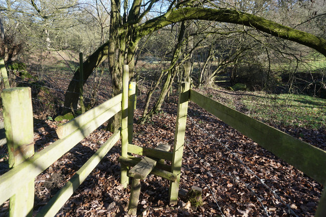 Spen Valley Heritage Trail towards Hunsworth Farm