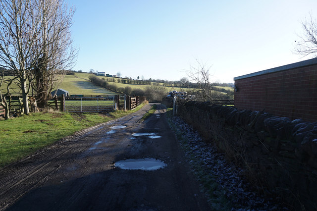 Spen Valley Heritage Trail towards Whitehall Road West
