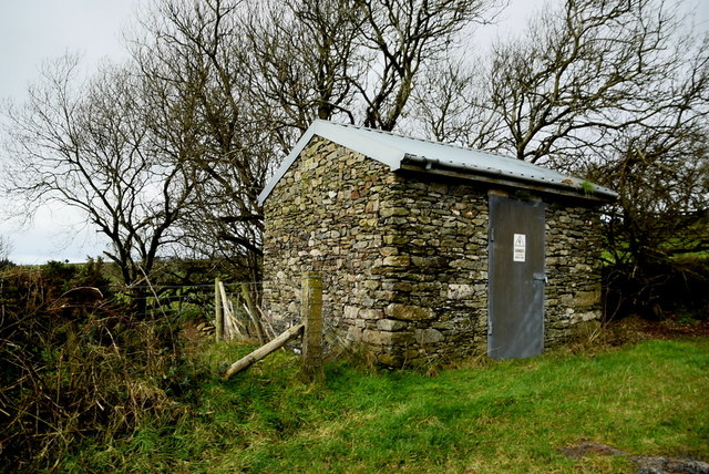 Utility services hut, Garvagh