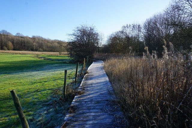 Spen Valley Heritage Trail near Cleckheaton