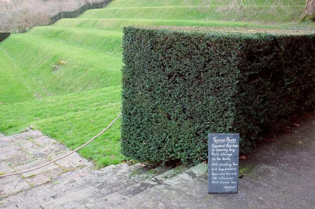 Tiltyard notice, Dartington