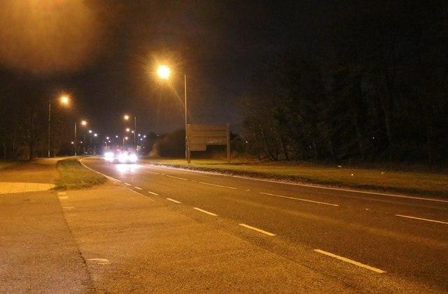 The A41, Quarrendon
