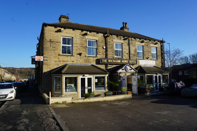 Wickham Arms on Saint Peg Lane, Cleckheaton