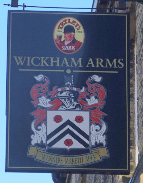 Wickham Arms on Saint Peg Lane, Cleckheaton