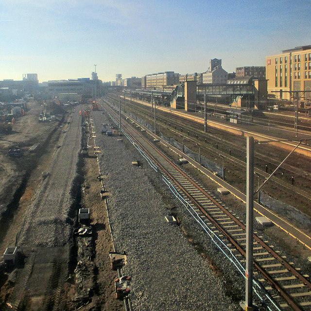 6469d86f1d1a Cambridge Station: ballast for new... © John Sutton cc-by-sa/2.0 ...