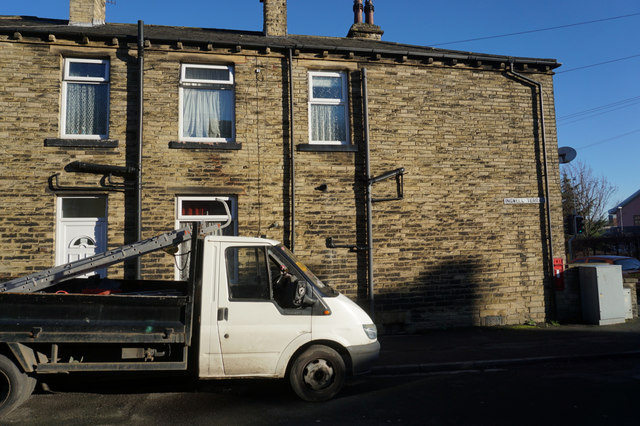 Ingwell Terrace off Saint Peg Lane, Cleckheaton