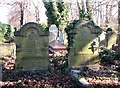 TG2108 : Graves in the Jewish burial ground by Evelyn Simak