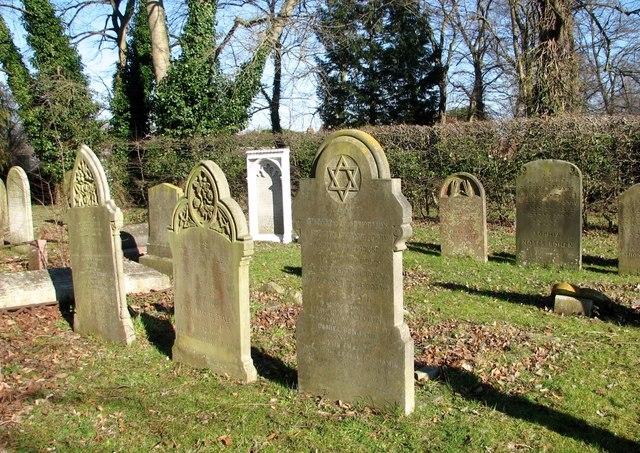 Gravestones in the Jewish Burial Ground