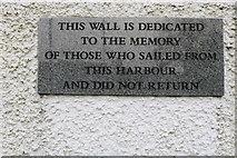 NX6851 : Memorial Wall, Kirkcudbright by Billy McCrorie