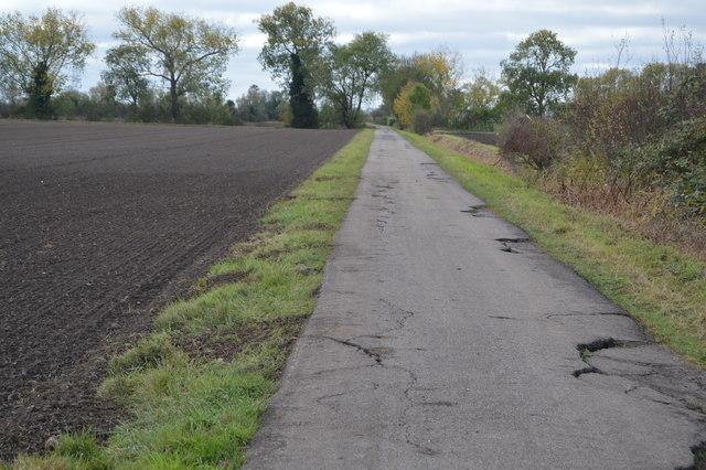 A fenland lane