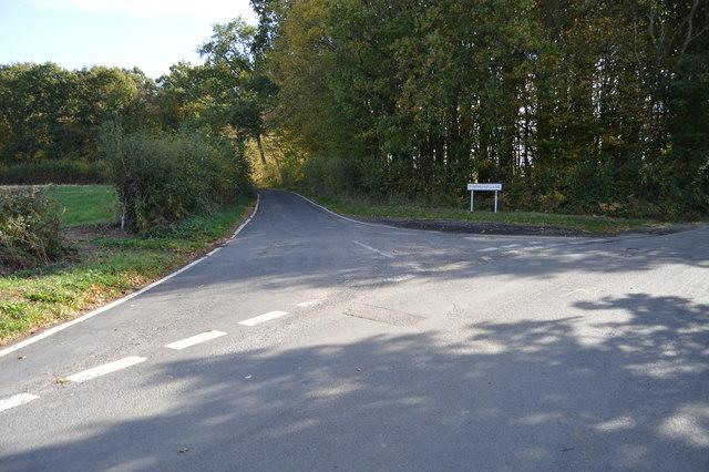 Tuesnoad Lane off Wissenden Lane
