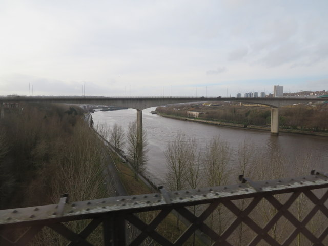 View SW from King Edward rail bridge