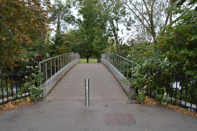 Footbridge across the River Medway