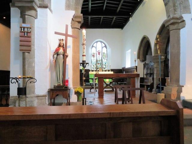 St Helen Auckland parish church interior