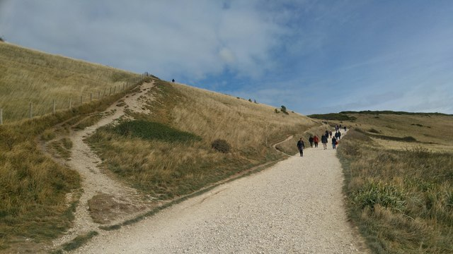 Path from Durdle Door towards the car park