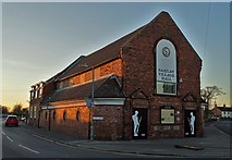 SK8975 : Saxilby Village Hall by Neil Theasby
