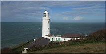 SW8576 : Lighthouse at Trevose Head by Derek Harper