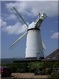 TQ6104 : Stonecross Windmill in East Sussex by John P Reeves