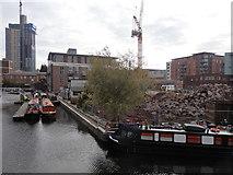 SP0586 : Oozells Street Loop, Birmingham Canal, Birmingham by Rudi Winter