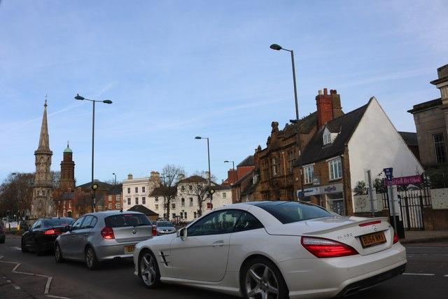 Oxford Road at Banbury Cross
