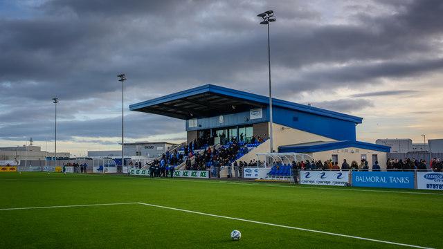 Balmoral Stadium - home of Cove Rangers FC