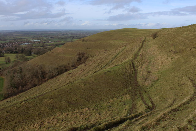 Ramparts and Ditches on Hambledon Hill