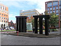 "SP0586 : Sculpture ""Aquaduct"", Brindleyplace, Birmingham by Rudi Winter"