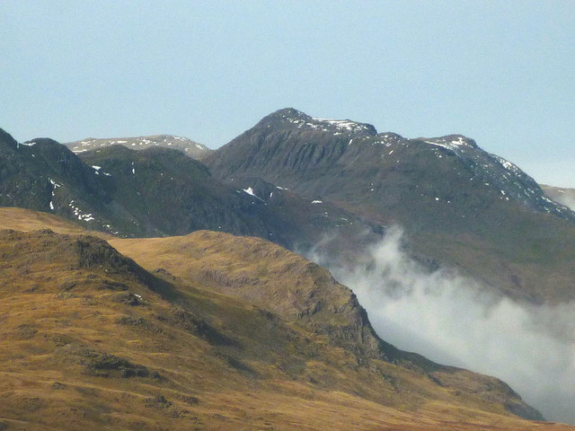 Bow Fell from Wetherlam