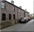 SO2320 : Stone houses, Llanbedr, Powys by Jaggery