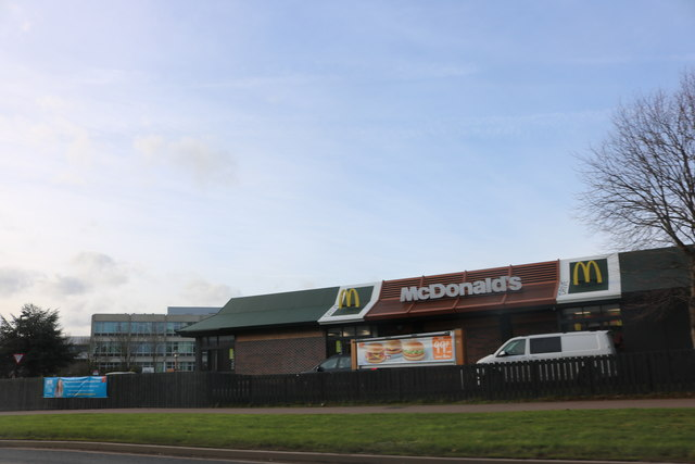 McDonald's on Ruscote Avenue, Banbury
