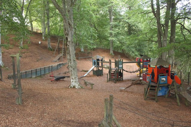 Playpark at Loch Insh Watersports Centre