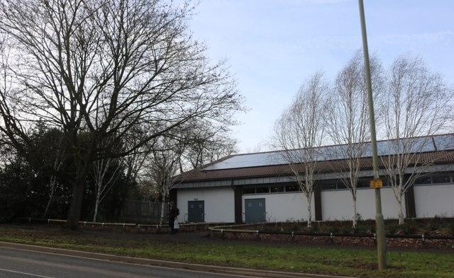 Warehouse on Ruscote Avenue, Banbury
