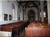 SP2760 : Inside St Peter, Barford (G) by Basher Eyre