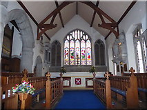 SP2760 : Inside St Peter, Barford (E) by Basher Eyre