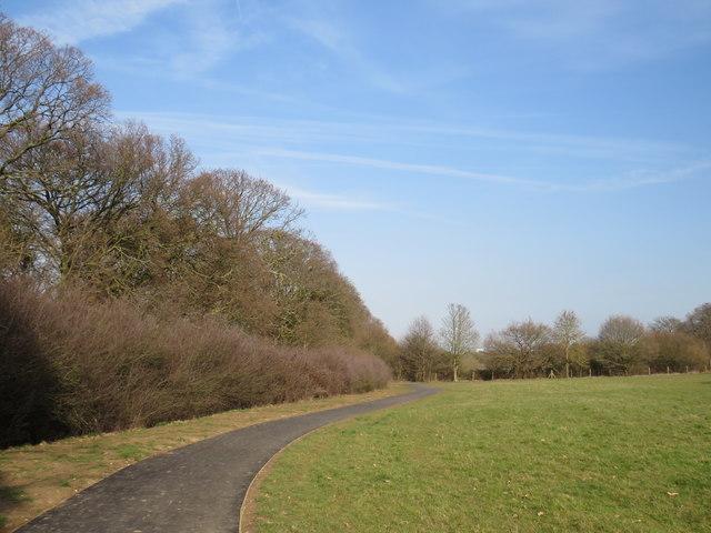 Path in Morden Park