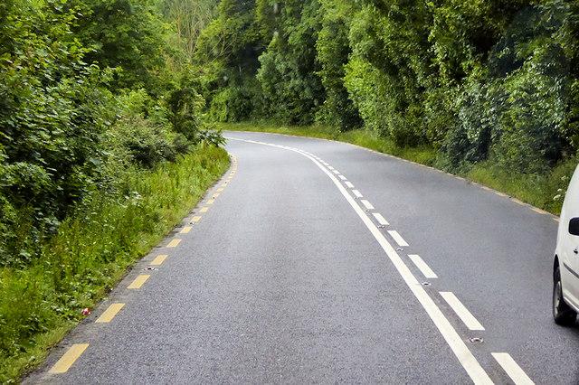 Southbound N25 towards Dungarvan