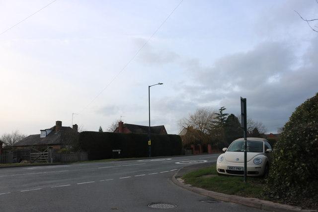 Junction on Kineton Road, Wellesbourne