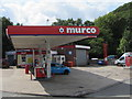 SS9386 : Murco filling station and shop, Blackmill by Jaggery