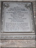 SP2160 : St James the Great, Snitterfield: memorial (VII) by Basher Eyre