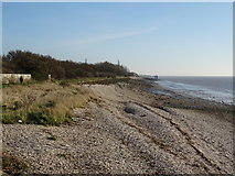 TA0225 : Humber Foreshore, Hessle Cliff by JThomas