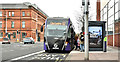 J3575 : Glider bus, Titanic Quarter, Belfast - February 2019(2) by Albert Bridge