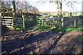 NY7020 : Field gateway for footpath onto Well House Road by Roger Templeman