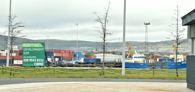 The Plater's Yard site, Titanic Quarter, Belfast - February 2019(2)