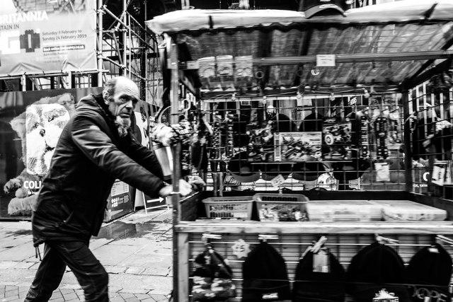 Street vendor, Canterbury
