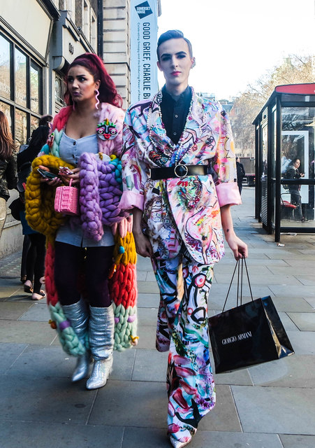 London Fashion Week, The Strand, London