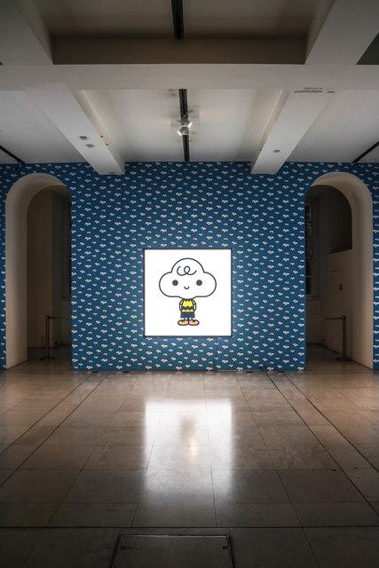 Charlie Brown installation, Somerset House, London
