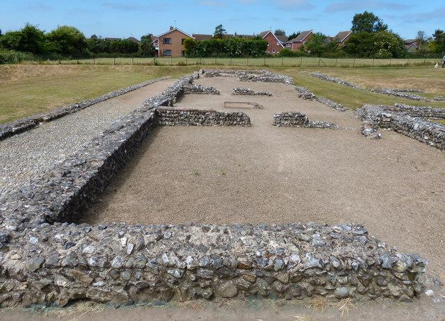 Caister-on-Sea Roman Fort