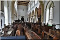 TM0556 : Combs, St. Mary's Church: The chancel and nave beyond by Michael Garlick