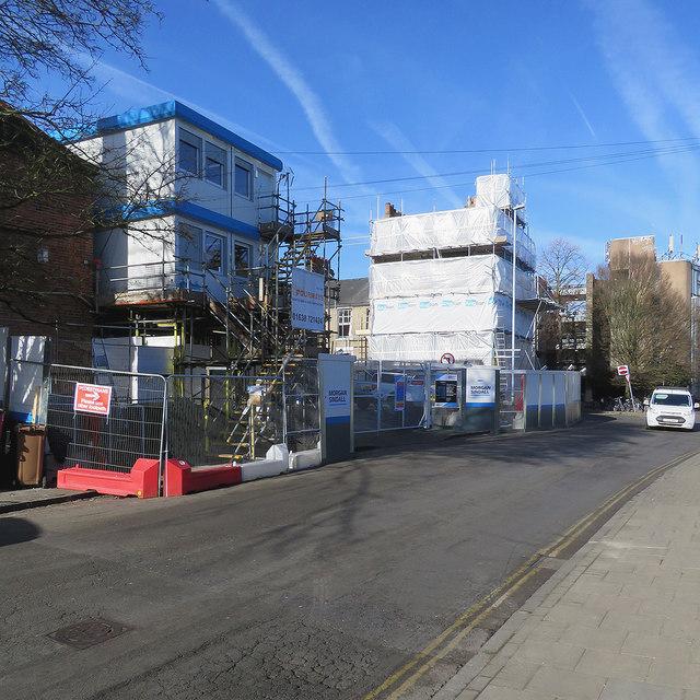 6edfb18967c9 Park Street: building work at the... © John Sutton :: Geograph ...