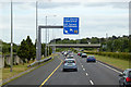 O2124 : M50 Exit at Junction 15 by David Dixon